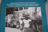 Puesta en circulacion de libro sobre la violencia en contra de mujeres haitinas