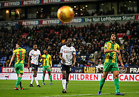 Bolton Wanderers' Clayton Donaldson rues a missed opportunity<br /> <br /> Photographer Andrew Kearns/CameraSport<br /> <br /> The EFL Sky Bet Championship - Bolton Wanderers v West Bromwich Albion - Monday 21st January 2019 - University of Bolton Stadium - Bolton<br /> <br /> World Copyright © 2019 CameraSport. All rights reserved. 43 Linden Ave. Countesthorpe. Leicester. England. LE8 5PG - Tel: +44 (0) 116 277 4147 - admin@camerasport.com - www.camerasport.com