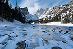 Winter day in Rocky Mountain National Park, Colorado, USA