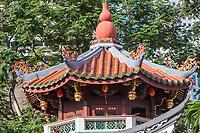 Singapore, Thian Hock Keng Taoist Temple Architecture.