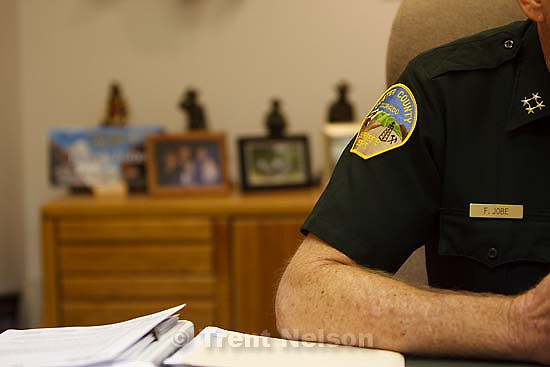 Westcliffe - . Wednesday, July 30, 2008. Sheriff Fred Jobe