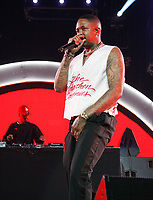 LOS ANGELES, CALIFORNIA - JUNE 21: YG performs onstage at the 2019 BET Experience STAPLES Center Concert at Staples Center on June 21, 2019 in Los Angeles, California. Photo: CraSH for imageSPACE /MediaPunch