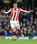 Ibrahim Afellay of Stoke City during the premier league match at Stamford Bridge Stadium, London. Picture date 30th December 2017. Picture credit should read: Robin Parker/Sportimage