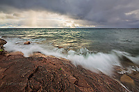 Autumn skies at the Upper Harbor, Marquette, Mi, Lake Superior