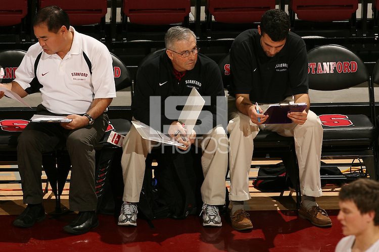 STANFORD, CA - JANUARY 30:  Al Roderigues of the Stanford Cardinal during Stanford's 3-2 win over the Long Beach State 49ers on January 30, 2009 at Maples Pavilion in Stanford, California.