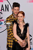 Madelaine Petsch &amp; Travis Mills at the 2017 American Music Awards at the Microsoft Theatre LA Live, Los Angeles, USA 19 Nov. 2017<br /> Picture: Paul Smith/Featureflash/SilverHub 0208 004 5359 sales@silverhubmedia.com
