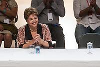 SAO PAULO, SP, 15.11.2013 - DÉCIMO TERCEIRO CONGRESSO NACIONAL DO PCDOB - A Presidente Dilma durante o 13º Congresso Nacional do PCdoB - Avançar nas Mudanças, que ocorre no Auditório Elis Regina, região norte de São Paulo. (Foto: Marcelo Brammer / Brazil Photo Press).