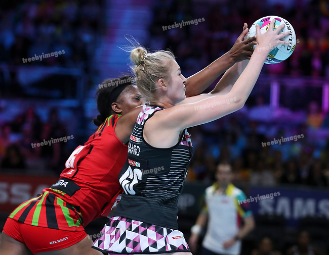 29/10/17 Fast5 2017<br /> Fast 5 Netball World Series<br /> Hisense Arena Melbourne<br /> 5/6 Malawi v South Africa<br /> <br /> Zanne-Marie Pienaar<br /> <br /> <br /> <br /> <br /> Photo: Grant Treeby