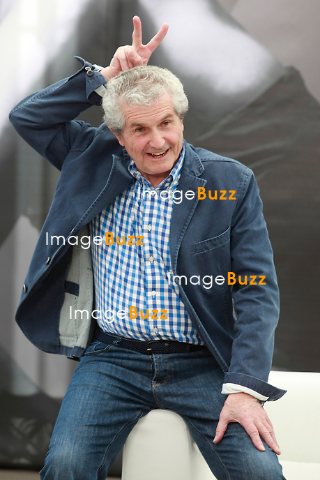 Claude Lelouch poses at the photocall during the 52nd Monte Carlo TV Festival on June 11, 2012 in Monte-Carlo, Monaco.