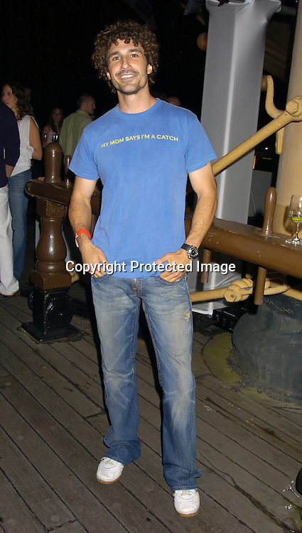 Ethan Zohn  ..at the Hanes Perfect T Party hosted by Kevin Dillon on August 16, 2005 at The South Street Seaport onboard The Peking. ..Photo by Robin Platzer, Twin Images
