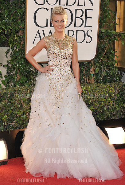 Julianne Hough at the 70th Golden Globe Awards at the Beverly Hilton Hotel..January 13, 2013  Beverly Hills, CA.Picture: Paul Smith / Featureflash