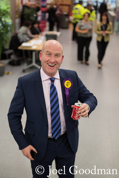 © Joel Goodman - 07973 332324 . FILE PICTURE DATED 09/10/2014 of UKIP deputy leader PAUL NUTTALL MEP as today he has denied playing the role of Bungle in the children's television programme , Rainbow , after his Wikipedia entry was edited to say he was .  Photo credit : Joel Goodman