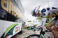 Tour of Belgium 2013.stage 3: iTT..Wout Poels (NLD).