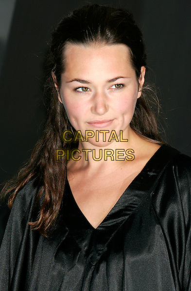 "ALISSA JUNG.""Salt"" German Film Premiere held at the .Sony Center, Berlin, Germany,.August 18th, 2010..portrait headshot black .CAP/PE.©Peter Eden/Capital Pictures."