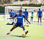 24.06.2019 Rangers training in Algarve: Alfredo Morelos