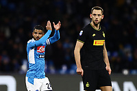6th January 2020; Stadio San Paolo, Naples, Campania, Italy; Serie A Football, Napoli versus Inter Milan; Lorenzo Insigne of Napoli applauds the fans - Editorial Use