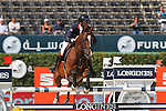 25.09.2015 Barcelon CSIO Barcelona . Picture show Nicolas Delmotte (FRA) ridding Darmani Vna't Heke durng EL Peridodico Trophy at Real Club de Polo de Barcelona