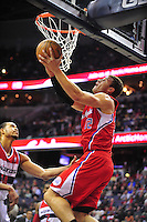 Blake Griffin of the LA Clippers  had 21 points, 11 rebounds and 8 assists in a win over the Washington Wizards on February 10, 2012. Alan P. Santos/DC Sports Box..