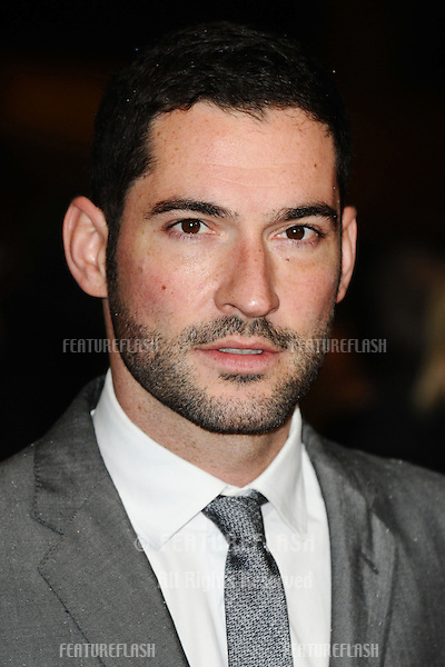 "Tom Ellis at the premiere for ""Great Expectations"" being shown as the closing film of the London Film Festival 2012, Odeon Leicester Square, London. 21/10/2012 Picture by: Steve Vas / Featureflash"
