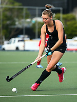 Madison Doar. Blacksticks Women's training game v Chile ahead of the 2019 FIH International Pro League Tournament, Grammar Hockey Turf, Auckland, New Zealand. Monday 17  December 2018. Photo: Simon Watts/Hockey NZ