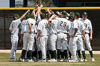 March 17, 2010:  North Dakota State University Bison vs. Long Island University at Lake Myrtle Park in Auburndale, FL.  Photo By Mike Janes/Four Seam Images