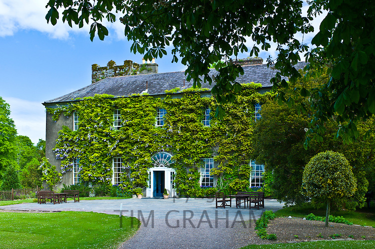 The famous Ballymaloe House Hotel and Cookery School, Shanagarry, County Cork, Ireland