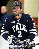 Gus Young (Yale - 2) - The Yale University Bulldogs defeated the Harvard University Crimson 5-1 on Saturday, November 3, 2012, at Bright Hockey Center in Boston, Massachusetts.
