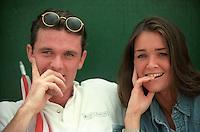 Fans at Wimbledon, 1996