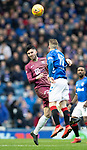 Rangers v St Johnstone&hellip;16.02.19&hellip;   Ibrox    SPFL<br />Sean Goss and Steven Davis<br />Picture by Graeme Hart. <br />Copyright Perthshire Picture Agency<br />Tel: 01738 623350  Mobile: 07990 594431