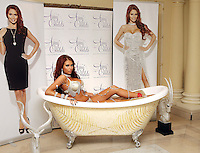 London - Amy Childs launches new jewellery collection with Mikey London, at the Millennium Mayfair Hotel, London - October 24th 2012..Photo by Mickey Townsend