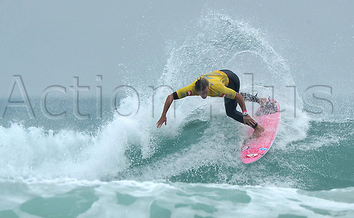 08 01 2012   Wanning South China. Brandon Jackson of South Africa competes during The International Surfing Association China Cup in Wanning South China s Hainan Province. The Three Day Event attracted 48Surfers From Eight Top ranked Countries All Over The World