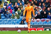 10th September 2017, Turf Moor, Burnley, England; EPL Premier League football, Burnley versus Crystal Palace; Nick Pope of Burnley replaced the injured Tom Heaton of Burnley in the first half