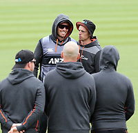 New Zealand captain Tim Southee. NZ & England T20 cricket team training at Hagley Oval in Christchurch, New Zealand on Thursday, 31 October 2019. Photo: Martin Hunter/ lintottphoto.co.nz