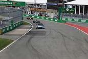 June 11th 2017, Circuit Gilles Villeneuve, Montreal Quebec, Canada; Formula One Grand Prix, Race Day. Lewis Hamilton leads under safety car control before the race