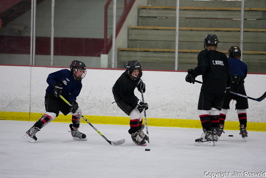 PeeWee's at the Schwan Super Rink in Blaine, MN.