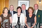 Chairman's choice at the St Pat's hurling club social in the Killarney Height's Hotel on Friday night l-r: Bridget Delaney, Pat Delaney (Chairman St Pats), Eva Conway, Jerome Conway (Kerry County Board Chairman), Breda Griffin and Dermot Griffin (East Kerry Board Chairman).   Copyright Kerry's Eye 2008