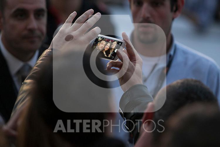 Actor Luke Evans arrives to Maria Cristina hotel during 63rd Donostia Zinemaldia (San Sebastian International Film Festival) in San Sebastian, Spain. September 21, 2015. (ALTERPHOTOS/Victor Blanco)