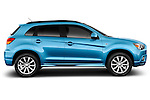 Passenger side profile view of a 2011 Mitsubishi Outlander Sport SE.
