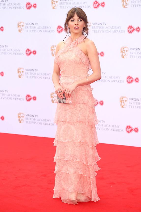 Ophelia Lovibond<br />  arriving at the Bafta Tv awards 2017. Royal Festival Hall,London  <br /> ©Ash Knotek