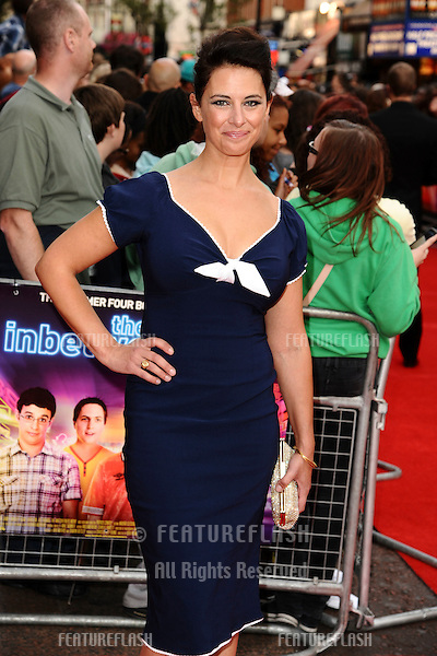 Belinda Stewart-Wilson arriving for The Inbetweeners, The Movie, film premiere at the Vue Leicester Square, London. 16/08/2011 Picture by: Steve Vas / Featureflash