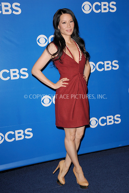 WWW.ACEPIXS.COM . . . . . .May 16, 2012...New York City....Lucy Liu attends the 2012 CBS Upfronts at The Tent at Lincoln Center on May 16, 2012 in New York City.on May 16, 2012  in New York City ....Please byline: KRISTIN CALLAHAN - ACEPIXS.COM.. . . . . . ..Ace Pictures, Inc: ..tel: (212) 243 8787 or (646) 769 0430..e-mail: info@acepixs.com..web: http://www.acepixs.com .
