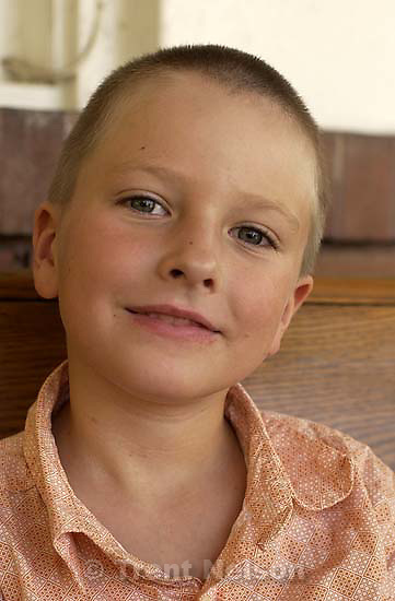 Noah Nelson with new haircut. 08.26.2002, 2:49:47 PM<br />