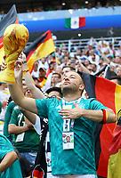 Deutscher Fan mit Weltmeisterpokal - 17.06.2018: Deutschland vs. Mexico, Luschniki Stadium Moskau