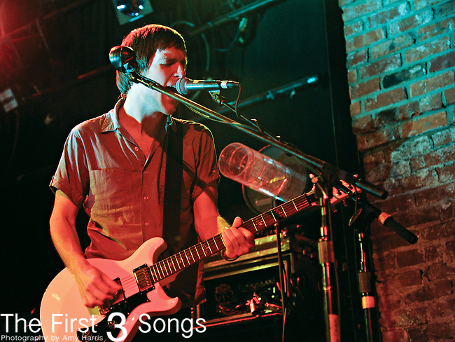 Mike Kennerty of All-American Rejects performs at Bogart's in Cincinnati, OH on May 13, 2012.