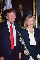 Donald Trump & Marla Maples by <br />
