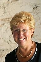 Christine Rigolle Vinyes Mas Romani. Owner winemaker. Spain Europe.
