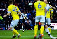 Preston North End's Daniel Johnson takes a freekick<br /> <br /> Photographer Alex Dodd/CameraSport<br /> <br /> The EFL Sky Bet Championship - Preston North End v Leeds United -Tuesday 9th April 2019 - Deepdale Stadium - Preston<br /> <br /> World Copyright &copy; 2019 CameraSport. All rights reserved. 43 Linden Ave. Countesthorpe. Leicester. England. LE8 5PG - Tel: +44 (0) 116 277 4147 - admin@camerasport.com - www.camerasport.com