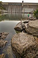 Beaverdam located on the White River near Eureka Springs Arkansas.