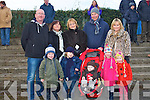 FAMILY AT THE RACES: Having a great time at the North Kerry Harries point to point races at the Ballybeggan racecourse, Tralee on Sunday front l-r: Niall Collins, James Fischer, Jack Collins, Kate Collins and Anna Colli