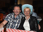Jimmy and Liz Duff at the Hoedown in Lobinstown held at Meade Potato Company. Photo:Colin Bell/pressphotos.ie
